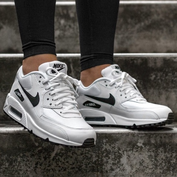 Nike Air Max 90 White Sneakers Women's 8.5